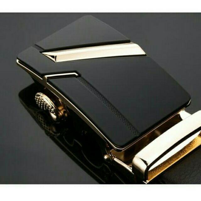 THẮT LƯNG NAM DA THẬT MAY VIỀN 2 BÊN - thắt lưng thời trang