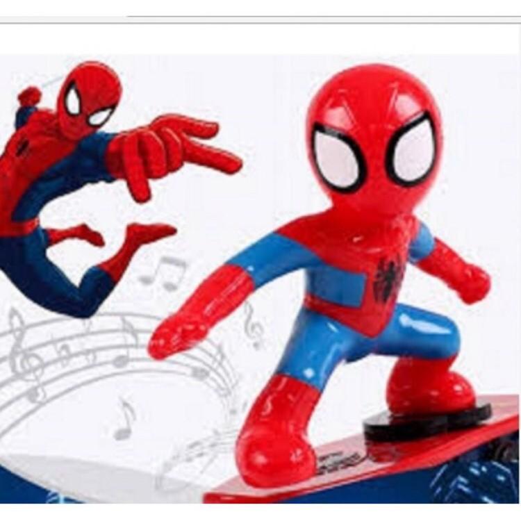 (TẾT THIẾU NHI) Ván trượt siêu nhân người nhện / đồ chơi người nhện trượt ván botdaquang85
