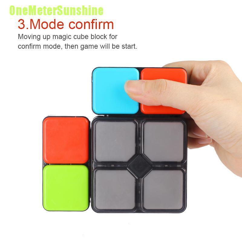 Khối Rubik Đồ Chơi Có Đèn Và Nhạc Thú Vị Cho Bé