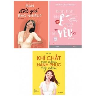 3 cuốn bình tĩnh khi ế mạnh mẽ khi yêu, bạn đắt giá bao nhiêu, khí chất bao nhiêu hạnh phúc bấy nhiêu