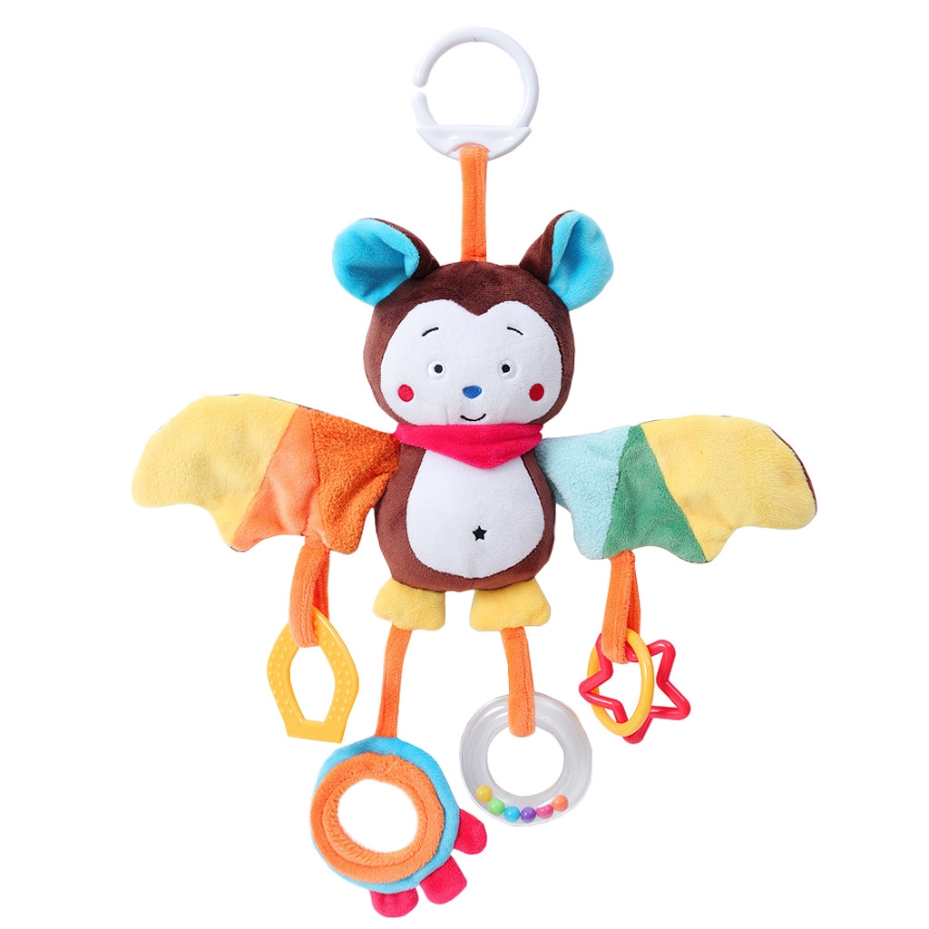 【COD】Animal Plush Toys Developmental Toy Bed Hanging Bed Infant Soft Toys