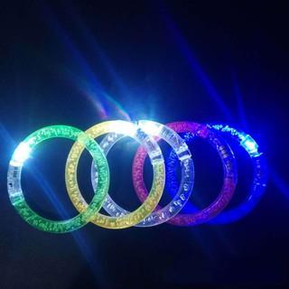 Vòng tay Noel đèn Led phát sáng lấp lánh (Giao màu ngẫu nhiên)