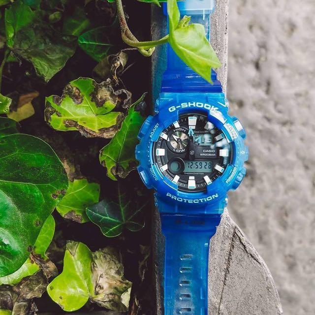 Đồng hồ nam Casio G- Shock GAX-100MSA-2ADR Chính hãng - Xanh đại dương - Bản đặc biệ
