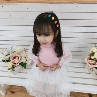 Áo Dài Tay Ren Tiểu Thư Hàng Quảng Châu Cao Cấp , Áo dài tay bé gái , Áo cotton cho bé