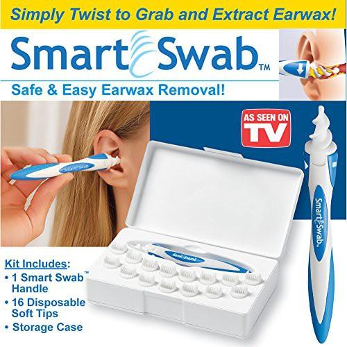 Dụng Cụ Lấy Ráy Tai Thông Minh Smart Swab (16 đầu thay thế)