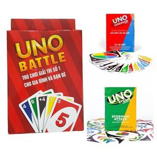 Combo bài Uno cơ bản và 02 bản mở rộng mới nhất