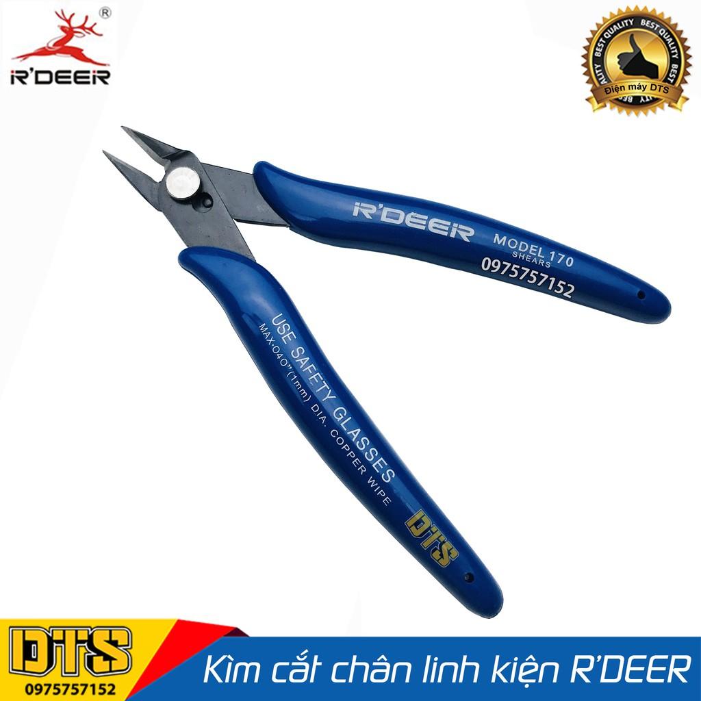 Kìm cắt chân linh kiện R'DEER 170 5 inch/ 125mm