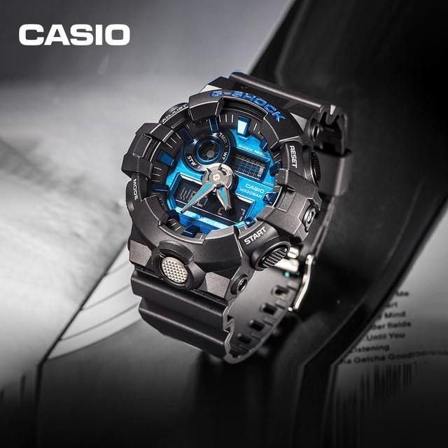 Đồng Hồ Casio Nam Dây Nhựa G-SHOCK GA-710-1A2DR Chính Hãng