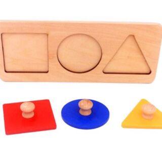 Thanh lý giáo cụ Montessori 0-3 mới 100%