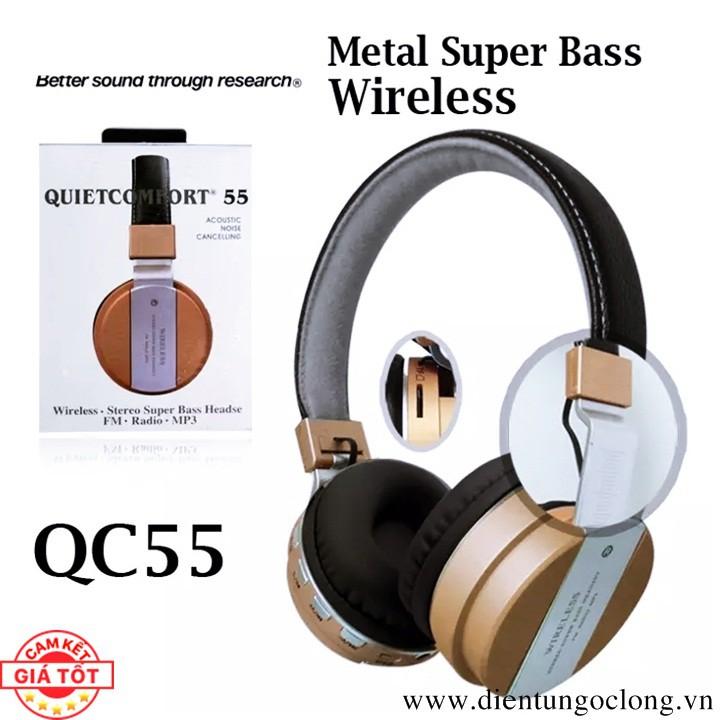 Tai Nghe Bluetooth BSE Model QC55