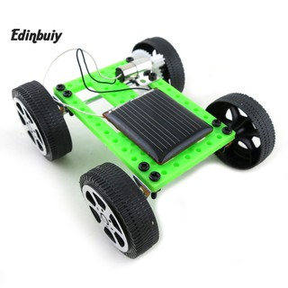 ☼Ready Mini Solar Powered Racing Car Vehicle Educational DIY Gadget Kit Kids Gift Toy
