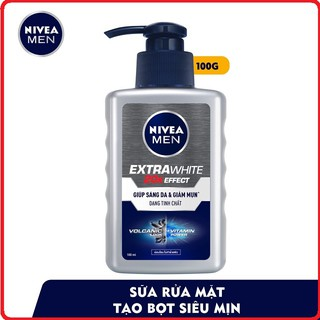 Sữa rửa mặt Nivea Men giúp sáng da vượt trội 100ml