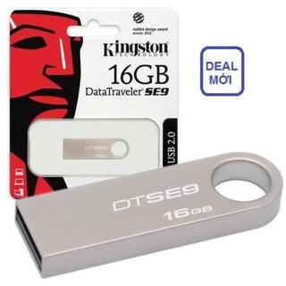 [Mã ELFLASH5 giảm 20K đơn 50K] ⛔ USB Kingston 16Gb ⛔ Chính Hãng - BH 1 Năm