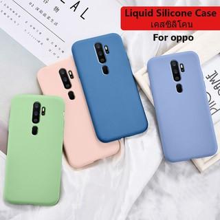 Ốp điện thoại silicone chống sốc màu trơn cho điện thoại Oppo A5 A9 2020 Realme 3 5 Pro X XT