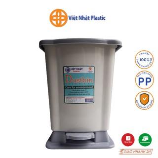 Thùng rác nắp bật Việt Nhật Plastic cỡ đại - trung - nhí thumbnail