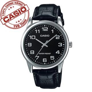 [Mã FARSBR243 giảm 15% đơn 249K] Đồng hồ nam dây da Casio Standard chính hãng Anh Khuê MTP-V001L-1BUDF thumbnail
