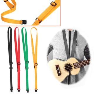 Ukulele Straps Practical Ribbon 3 Color Musical Instruments