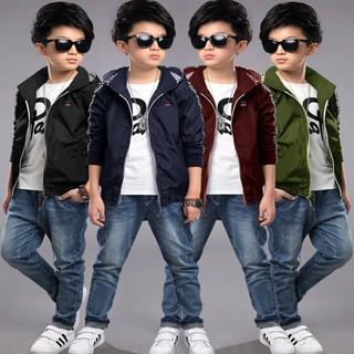 Áo Khoác Trẻ Em Thời Trang 4 tuổi - 10 tuổi - JZ0850