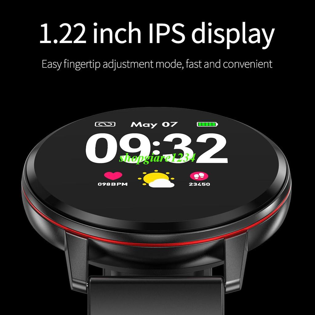 Đồng Hồ Thông Minh CF85, Màn Hình LCD 1.22'' chống nước Cao Cấp