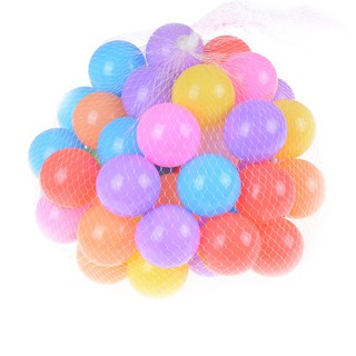 10pcs/lot Eco-Friendly Colorful Soft Plastic Water Pool Ocean Wave Ball Baby Funny Toys Stress Air Ball Outdoor Sports