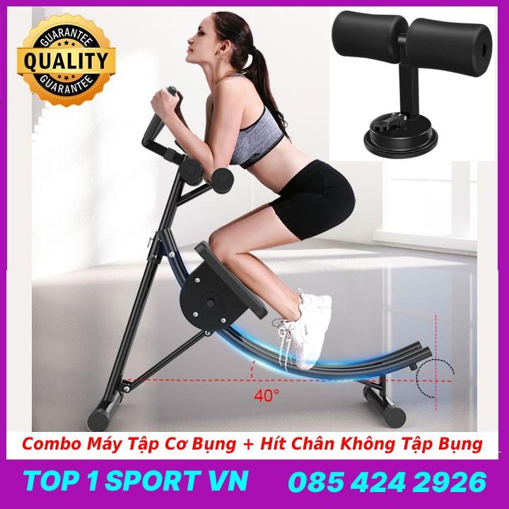 Máy tập cơ bụng, lưng, tay, ngực, hông, eo đa năng Elip AB Gym chính hãng thế hệ 4.0 - Tặng hít tập cơ bụng và đồng hồ