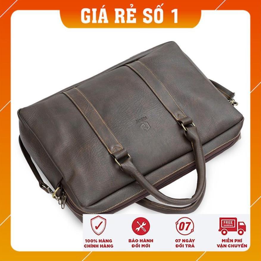 Túi xách công sở - Cặp laptop -  Hanama Tom 5 chông nước, có ngăn chống sốc cao cấp