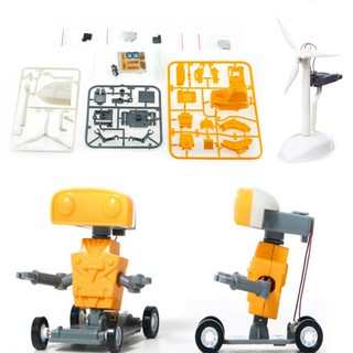 Brine Power Robot Toy Educational DIY Construction Toy for Kids Boys Girls