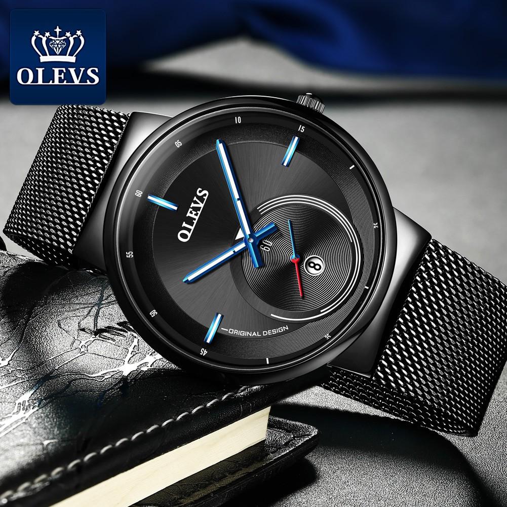 Đồng hồ OLEVS 9908 chống thấm nước kiểu dáng sang trọng cho nam