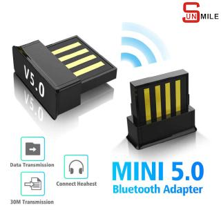 【READY COD】 USB Bluetooth Adapters BT 5.0 Wireless Computer Adapter Audio Receiver Transmitter