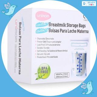 Túi trữ sữa mẹ Unimom 210 ml (hộp 60 túi)