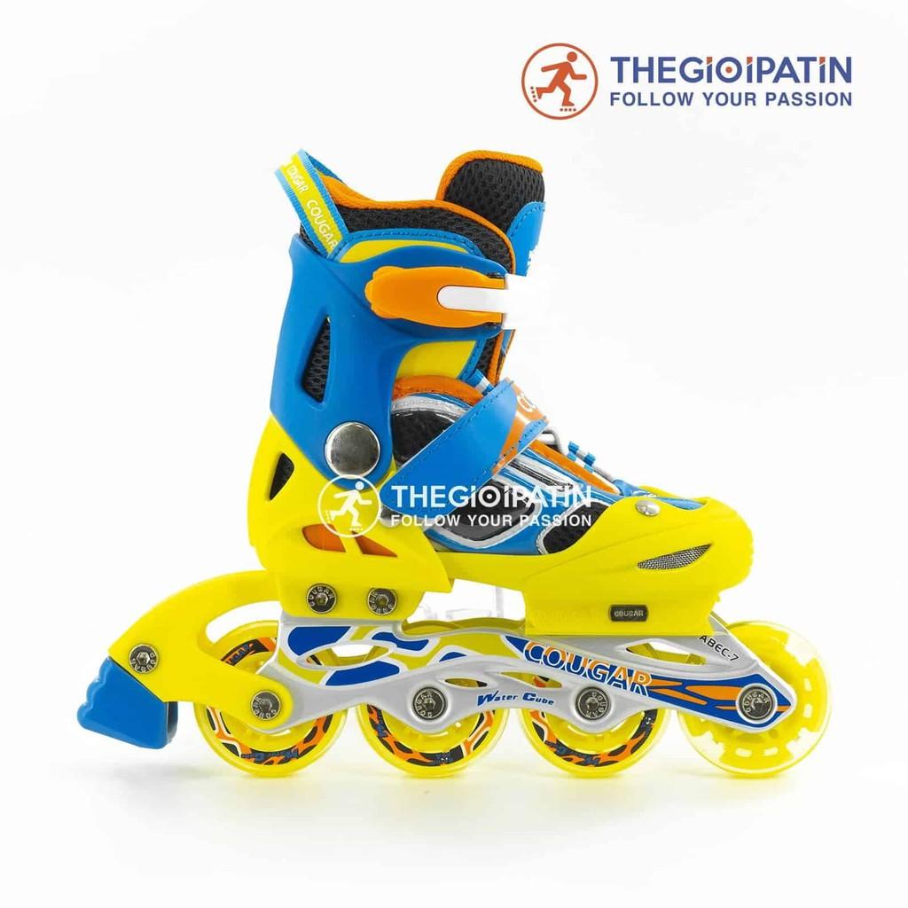 Giày Patin Trẻ Em Cougar PCG 8 Cao Cấp, giày patin Cougar 835LSG, giày trượt patin chính hãng cho bé