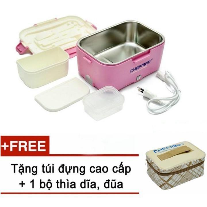 Hộp ủ cơm hâm nóng tự động Chefman CM112i - hàng nhập khẩu