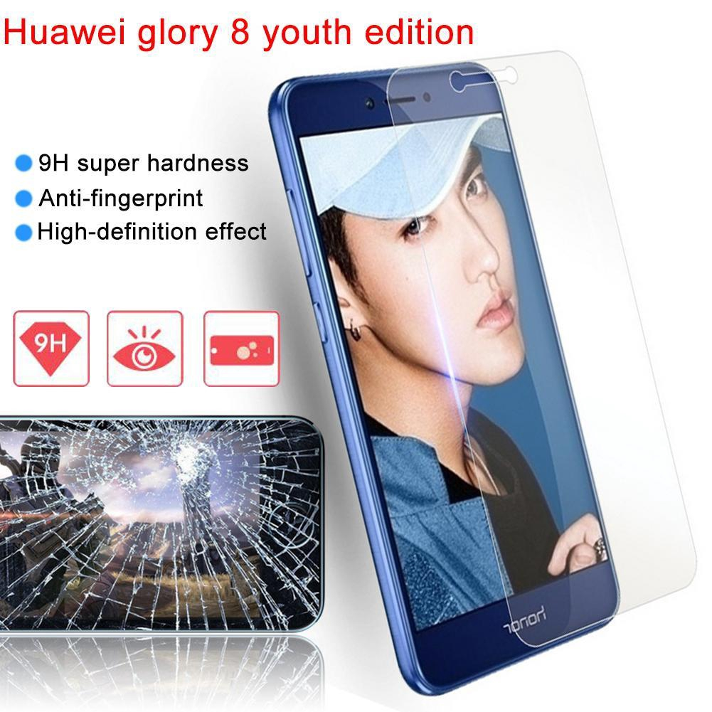 Premium Tempered Glass Screen Protector Anti-explosion Toughened Protective Film Clear HD Protector for Huawei Honor 8