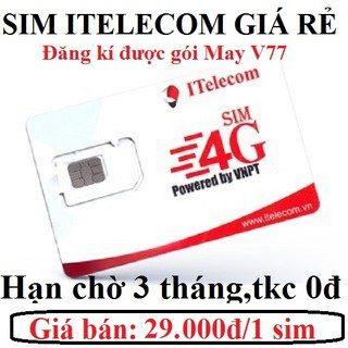 Sim số giá rẻ Đông Dương ITelecom