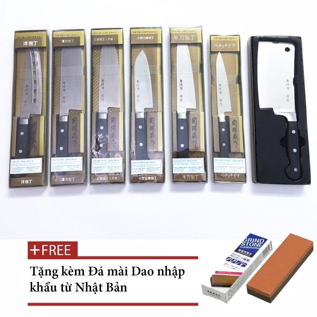 Set 7 dao Nhật Bản Mitsuboshi - 2427803 , 410991953 , 322_410991953 , 1410000 , Set-7-dao-Nhat-Ban-Mitsuboshi-322_410991953 , shopee.vn , Set 7 dao Nhật Bản Mitsuboshi