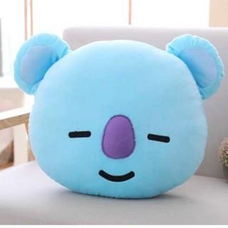 BANGTAN GỐI gấu bông koya BT21- BTS (xanh dương)