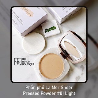 Phấn phủ La Mer Sheer Pressed Powder #01 Light
