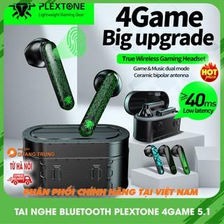 Tai nghe bluetooth plextone 4game phiên bản 2021,độ trễ 40ms,bluetooth 5.1 chơi game cực tốt