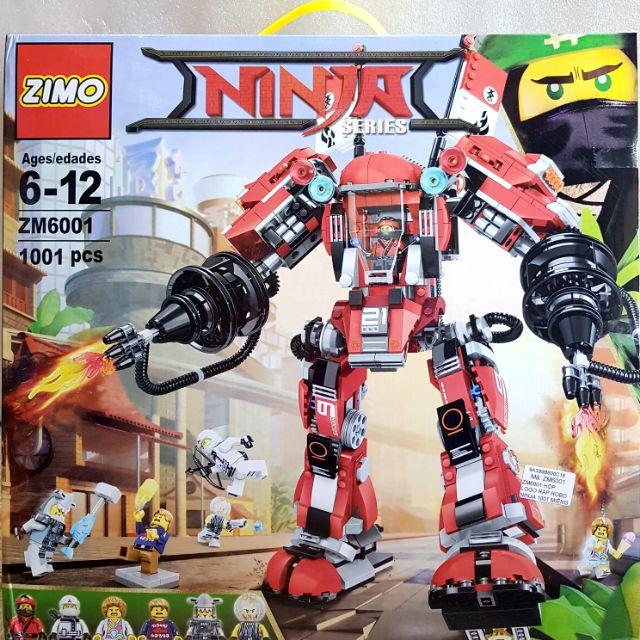 Hộp lắp ráp robot Ninja đại chiến
