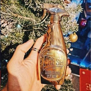 set moschino mini gold thumbnail
