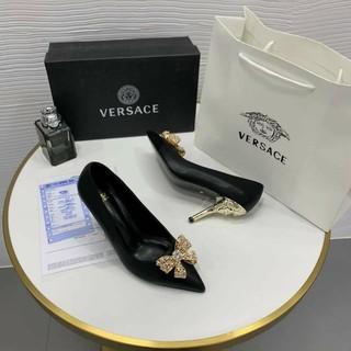 Giày Versace nơ đẹp xuất sắc