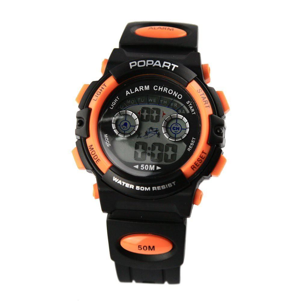 Đồng hồ Bé trai Điện Tử Popart 944 - đồng hồ nhỏ cho bé trai siêu đẹp, chịu được nước Đồng hồ điện tử