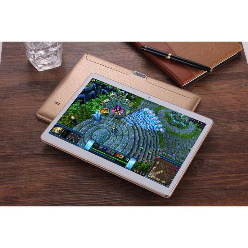 Máy tính bảng Android 6.0 Ram 4G Rom 64Gb Dual Sim - Màu Đen- kèm quà tặng