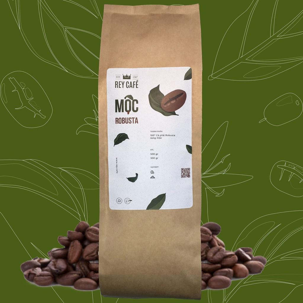 Cà phê Mộc Robusta - Coffee Nguyên chất rang mộc - Thương hiệu Rey Cafe