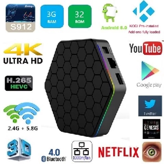 Android TV Box T95Z Plus Android 7.1 với RAM 3 GB 32 GB ROM