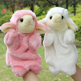 ✿bv✿Sheep Hand Puppet Baby Child Developmental Soft Doll Plush Toysღiღ