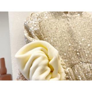 Váy Kimsa  lót  nỉ  kèm nơ