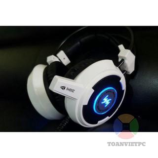 Tai Nghe Chuyên Game Văn Phòng WANG MING 8900LS Âm Thanh 7.một Chân Cắm USB thumbnail