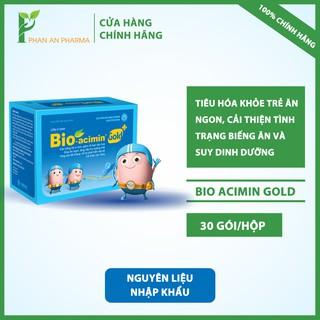 Cốm vi sinh Bio-acimin Gold tiêu hóa khỏe – trẻ ăn ngon, cải thiện biếng ăn suy dinh dưỡng – CN23