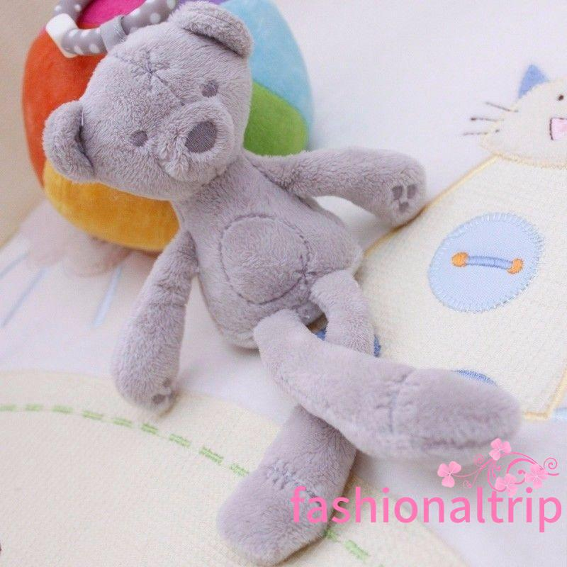 HRS-New Cute Bunny Soft Plush Toys Bear Stuffed Animal Baby toys Kids Gift Animals Doll